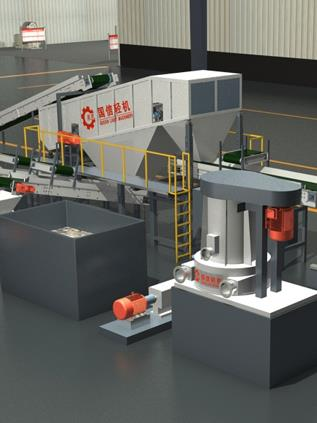 Paper waste treatment equipment
